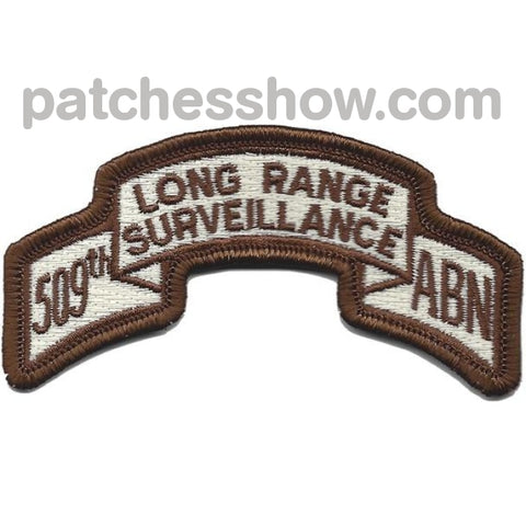 509Th Lrs Airborne Infantry Desert Patch Military Tactical Patches Embroidered Sew On Or Iron On