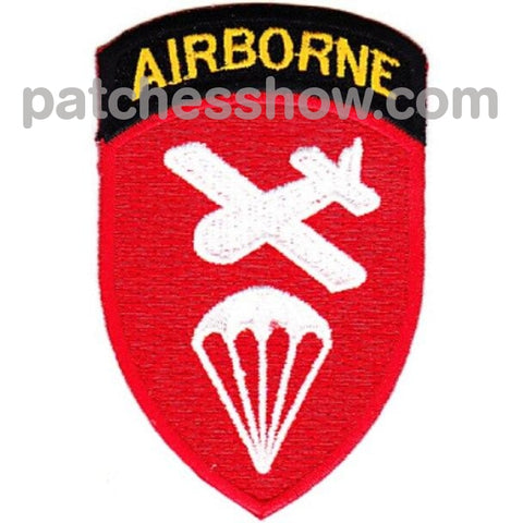 Airborne Glider Operations Command Patch Military Tactical Patches Embroidered Sew On Or Iron On