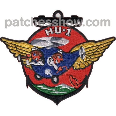 Hu-1 Helicopter Utility Squadron Patches Korea Military Tactical Patches Embroidered Sew On Or Iron
