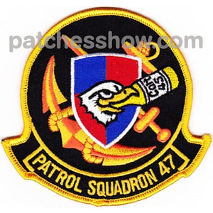 Vp-47 Patch Colt 45 Military Tactical Patches Embroidered Sew On Or Iron On Velcro Usa Wholesale