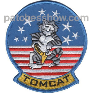 Vx-9 Tomcat Patch Military Tactical Patches Embroidered Sew On Or Iron On Velcro Usa Wholesale
