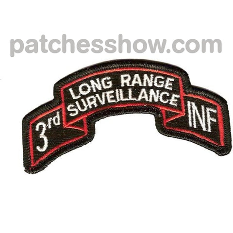 3Rd Infantry Division Long Range Patch Military Tactical Patches Embroidered Sew On Or Iron On