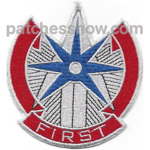 1St Sustainment Command Patch Military Tactical Patches Embroidered Sew On Or Iron On Velcro Usa