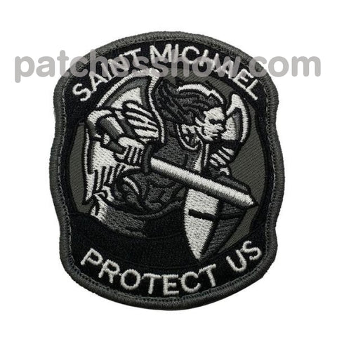 Embroidered Velcro Armband Archangel St. Michael Embroidery 3D Military Tactical Patches