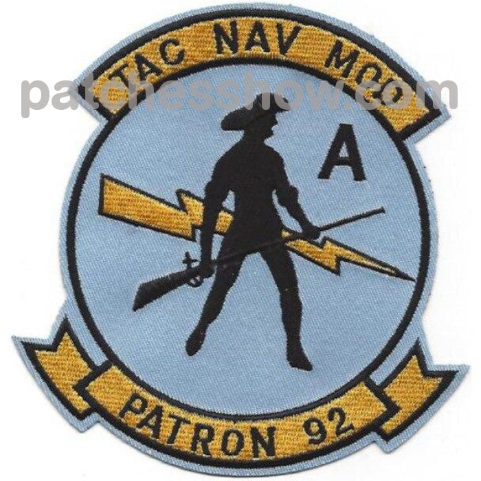 Vp-92 Aviation Patrol Squadron Tac Nav Mod Patch Military Tactical Patches Embroidered Sew On Or