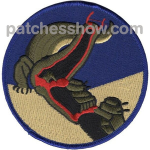 Wwii Amphibious Alligator Patch Military Tactical Patches Embroidered Sew On Or Iron On Velcro Usa