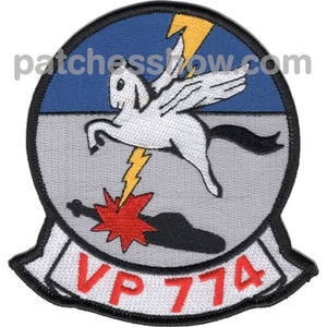 Vp-774 Navy Squadron Patch Military Tactical Patches Embroidered Sew On Or Iron On Velcro Usa