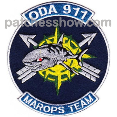 Oda-911 Patch - Marops Team Military Tactical Patches Embroidered Sew On Or Iron On Velcro Usa