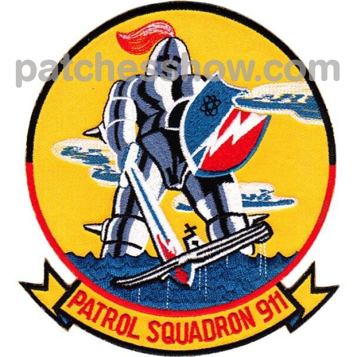 Vp-911 Patch Patrol Squadron 911 Military Tactical Patches Embroidered Sew On Or Iron On Velcro Usa