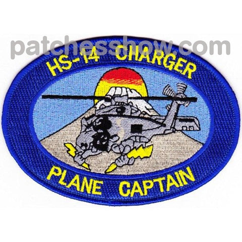 Hs-14 Patches Chargers Plane Captain Military Tactical Patches Embroidered Sew On Or Iron On Velcro