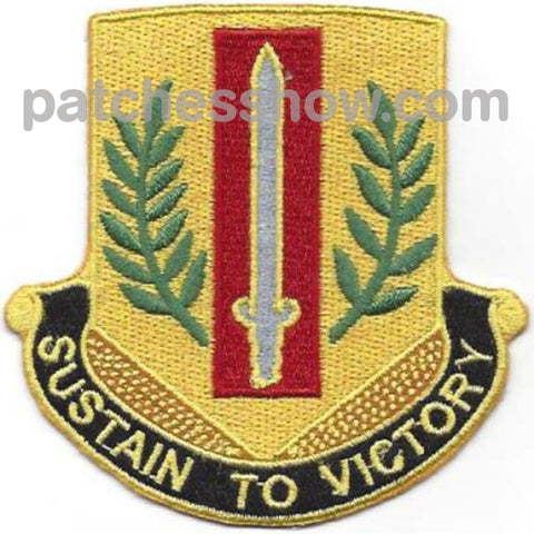 1St Sustainment Brigade Patch Military Tactical Patches Embroidered Sew On Or Iron On Velcro Usa