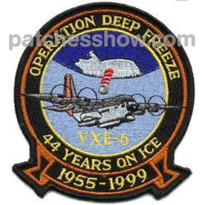 Vxe-6 Patch Operation Deep Freeze Military Tactical Patches Embroidered Sew On Or Iron On Velcro Usa