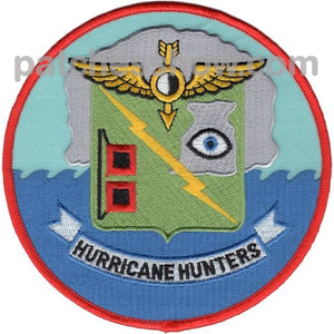 Vw-4 Patch Hurricane Hunters Military Tactical Patches Embroidered Sew On Or Iron On Velcro Usa