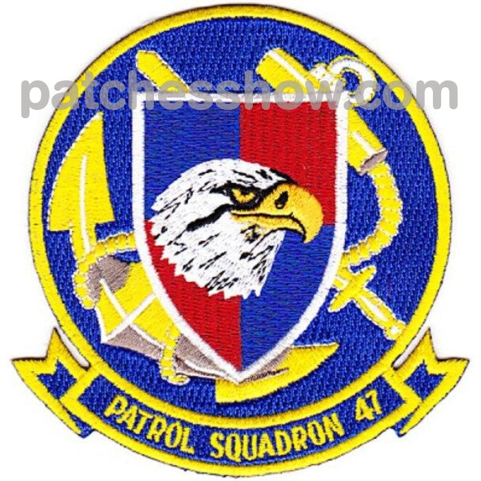 Vp-47 Patrol Squadron Patch Military Tactical Patches Embroidered Sew On Or Iron On Velcro Usa