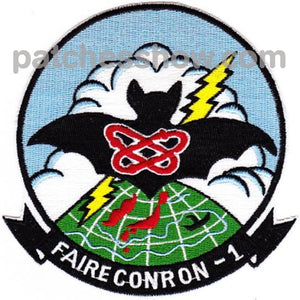 Vq-1 Fleet Air Reconnaissance Squadron One Patch Military Tactical Patches Embroidered Sew On Or