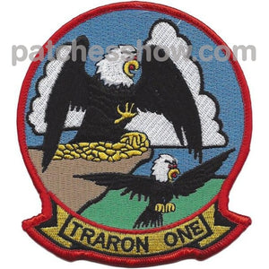 Vt-1 Aviation Training Squadron Patch Traron One Military Tactical Patches Embroidered Sew On Or