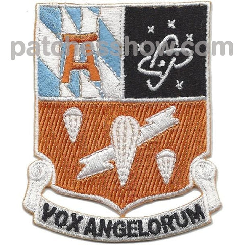 511Th Airborne Signal Battalion Patch Vox Angelorum Military Tactical Patches Embroidered Sew On Or