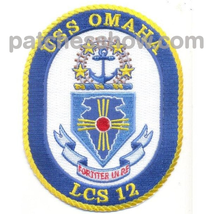 Uss Omaha Lcs Military Tactical Patches Embroidered Sew On Or Iron On Velcro Usa Wholesale2 Littoral