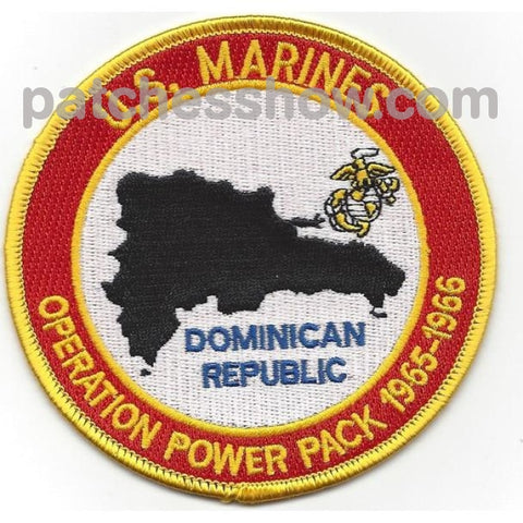 U.s. Marine Corps Operation Power Pack Patches Military Tactical Patches Embroidered Sew On Or Iron