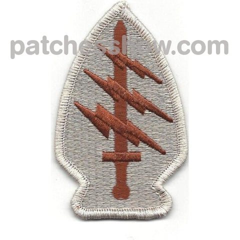 Army Special Operations Command Socom Patch Desert Military Tactical Patches Embroidered Sew On Or