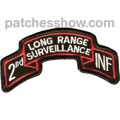 2Nd Infantry Long Range Patch Military Tactical Patches Embroidered Sew On Or Iron On Velcro Usa
