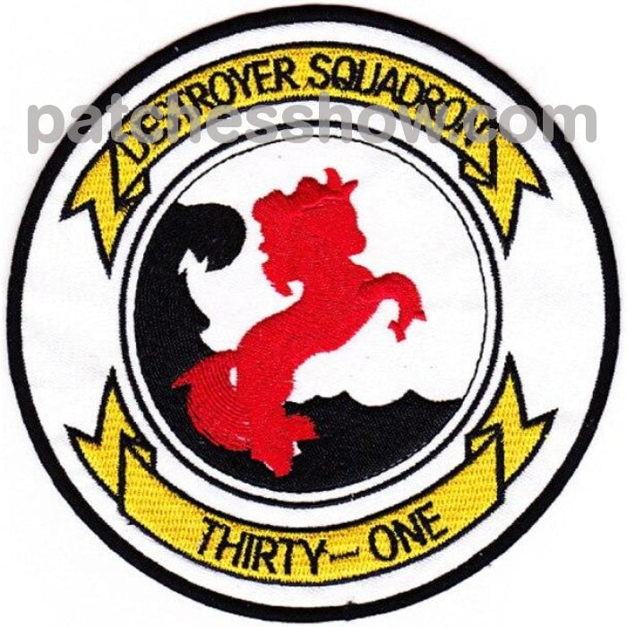 Desron 31 Destroyer Squadron Patch - Version B Military Tactical Patches Embroidered Sew On Or Iron