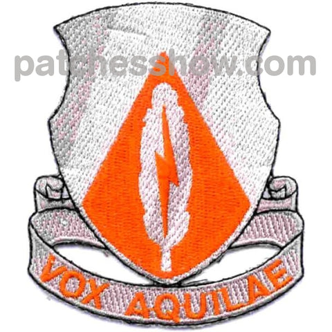 501St Airborne Signal Battalion Patch Vox Aquilae Military Tactical Patches Embroidered Sew On Or