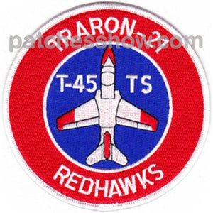 Vt-21 Aviation Air Training Squadron Twenty One Patch Traron-21 Redhawks Military Tactical Patches