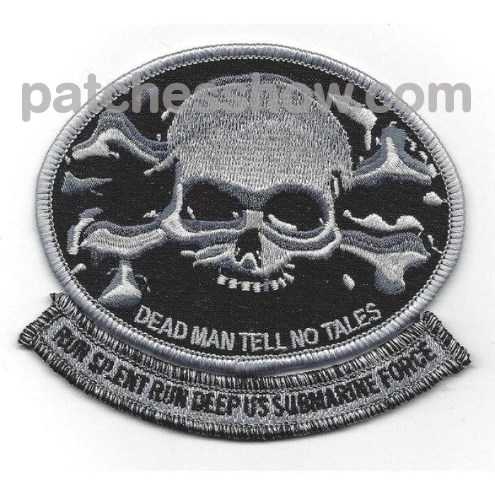 Skull And Crossbones Dead Man Tell No Tales Patch Military Tactical Patches Embroidered Sew On Or