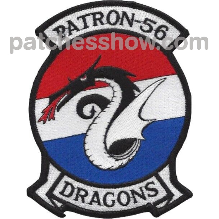 Vp-56 Patch The Dragons - Version A Military Tactical Patches Embroidered Sew On Or Iron On Velcro