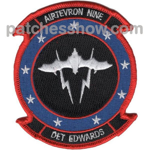 Vx-9 Det Edwards Afb Patch Military Tactical Patches Embroidered Sew On Or Iron On Velcro Usa