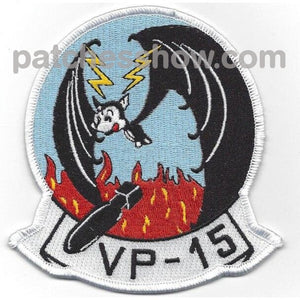 Vp-15 Patrol Squadron Patch Military Tactical Patches Embroidered Sew On Or Iron On Velcro Usa