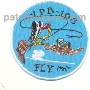 Vpb-198 Aviation Patrol Bomber Squadron Patch Military Tactical Patches Embroidered Sew On Or Iron