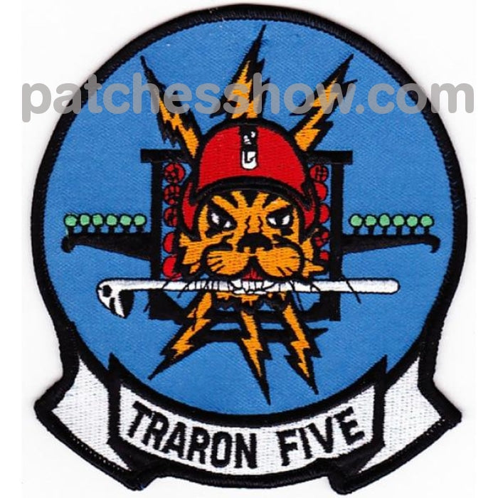 Vt-5 Patch Traron Five Tigers Military Tactical Patches Embroidered Sew On Or Iron On Velcro Usa