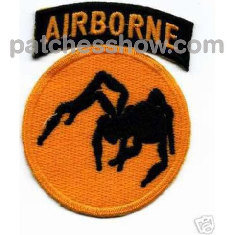 135Th Airborne Division Patch Ghost Wwii Military Tactical Patches Embroidered Sew On Or Iron On