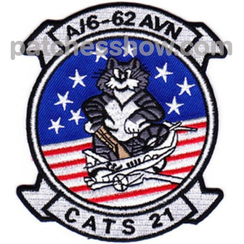 6Th Squadron 62Nd Aviation Regiment A Company Patch Cats 21 Military Tactical Patches Embroidered