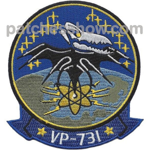 Vp-731 Reserve Sqd Patch Military Tactical Patches Embroidered Sew On Or Iron On Velcro Usa