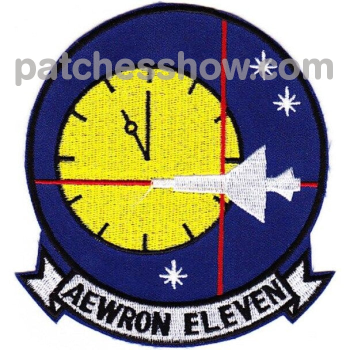 Vw-11 Aviation Air Borne Early Warning Squadron Patch Military Tactical Patches Embroidered Sew On