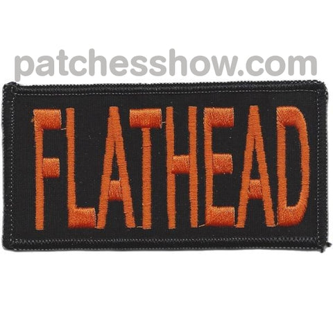 Flathead Patches Military Tactical Patches Embroidered Sew On Or Iron On Velcro Usa Wholesale