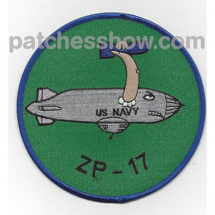 Zp-17 Wwii Zeppelin Squadron Patch Military Tactical Patches Embroidered Sew On Or Iron On Velcro
