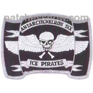 Vxe-6 Patch Ice Pirates Military Tactical Patches Embroidered Sew On Or Iron On Velcro Usa Wholesale