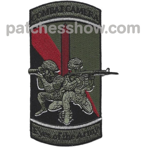 55Th Signal Company Combat Camera Patch Military Tactical Patches Embroidered Sew On Or Iron On