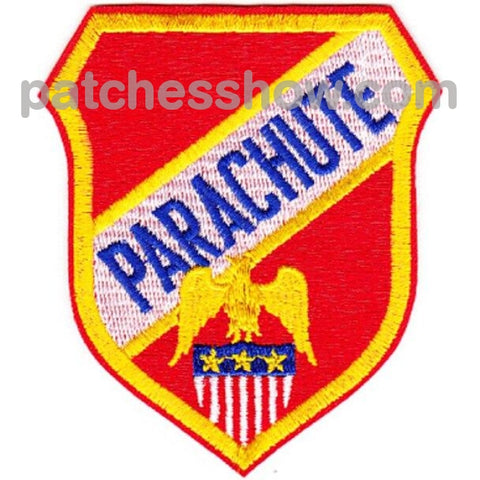 Airborne Generic Parachute Patch Military Tactical Patches Embroidered Sew On Or Iron On Velcro Usa