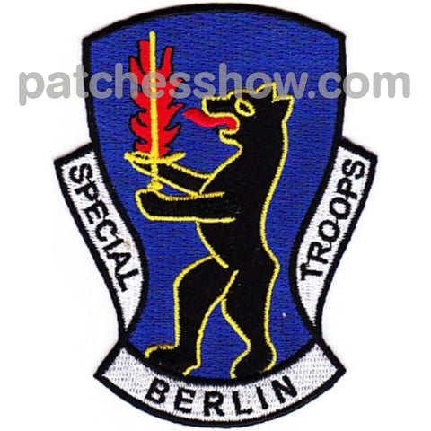 7781St Composite Service Brigade Patch Special Berlin Troops Military Tactical Patches Embroidered