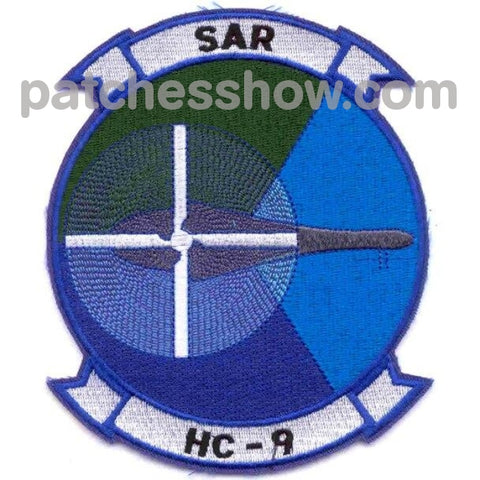 Hc-9 Helicopter Combat Support Squadron Patches Military Tactical Patches Embroidered Sew On Or Iron