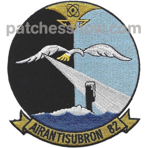 Vs-82 Air Anti-Submarine Squadron Patch Military Tactical Patches Embroidered Sew On Or Iron On