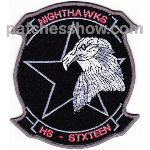 Hs-16 Patches Nighthawks Military Tactical Patches Embroidered Sew On Or Iron On Velcro Usa
