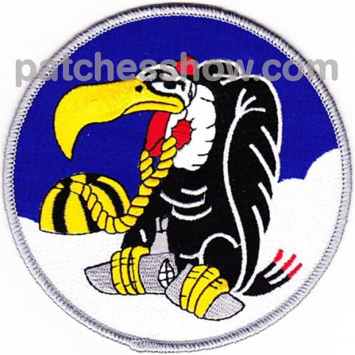 Vp-34 Patch The Buzzards Military Tactical Patches Embroidered Sew On Or Iron On Velcro Usa