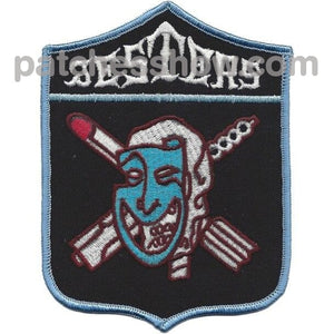 Vf-73 Fighter Squadron Patch - Jesters Military Tactical Patches Embroidered Sew On Or Iron On