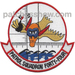 Vp-44 Patrol Squadron Forty-Four Patch Military Tactical Patches Embroidered Sew On Or Iron On